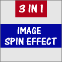 More about 3 in 1 image spin effect
