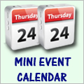 More about Mini Event Calendar